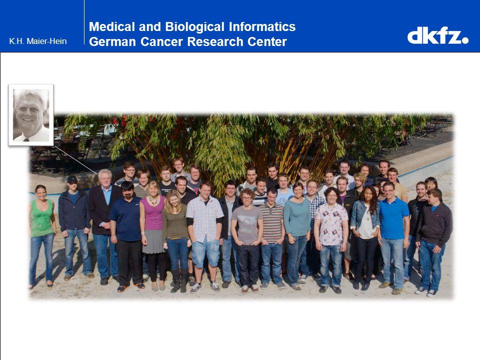 K.H. Maier-Hein Medical and Biological Informatics German Cancer Research Center