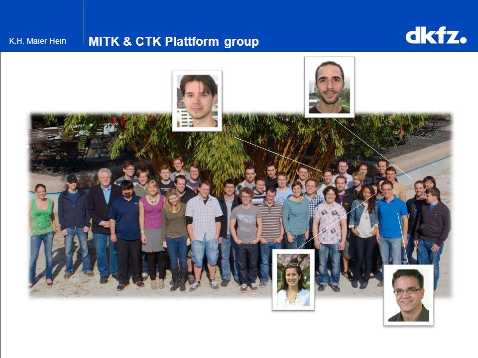 K.H. Maier-Hein MITK & CTK Plattform group