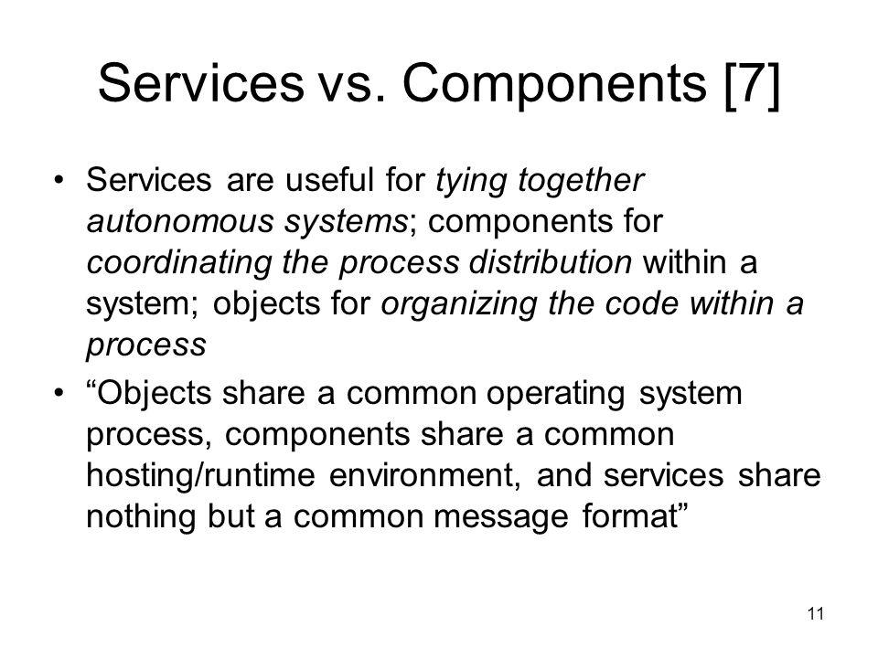 11 Services vs.