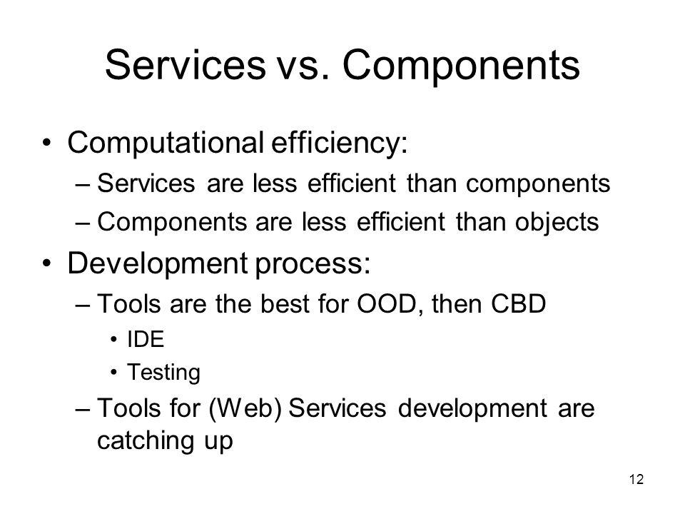 12 Services vs.