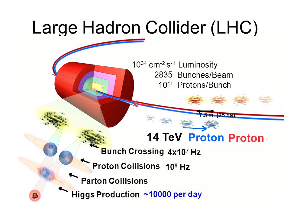 LHC Magnets 9 Tesla field Dipoles separated by 20cm Cooled to superfluid liquid helium temperatures 20 km of magnets