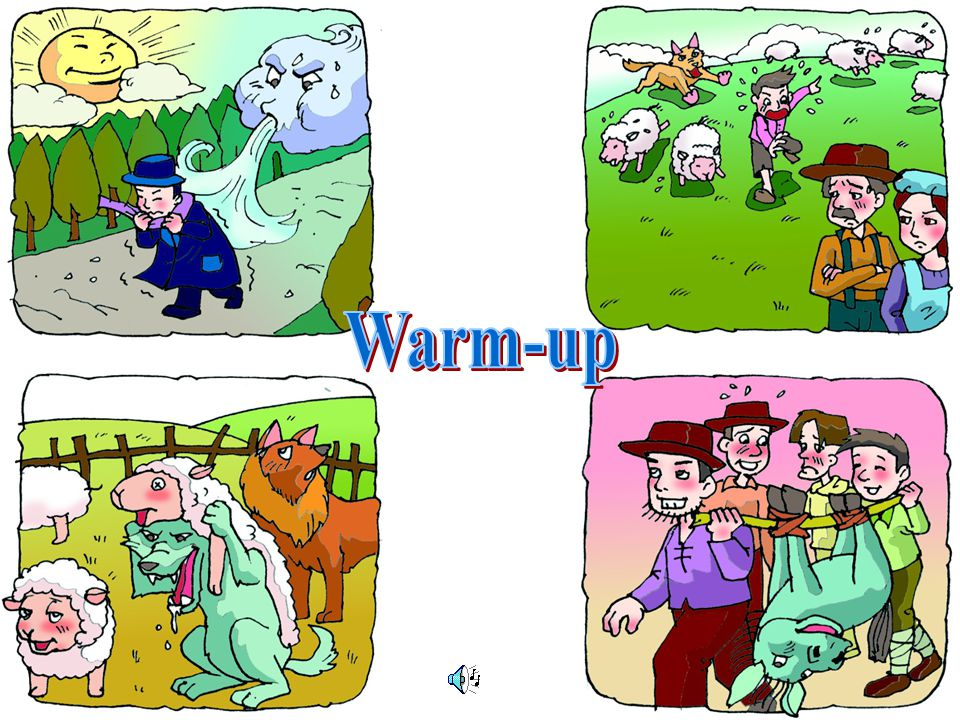 Warm-up Vocabulary Idioms & Phrases Reading -Paragraphs 1-2