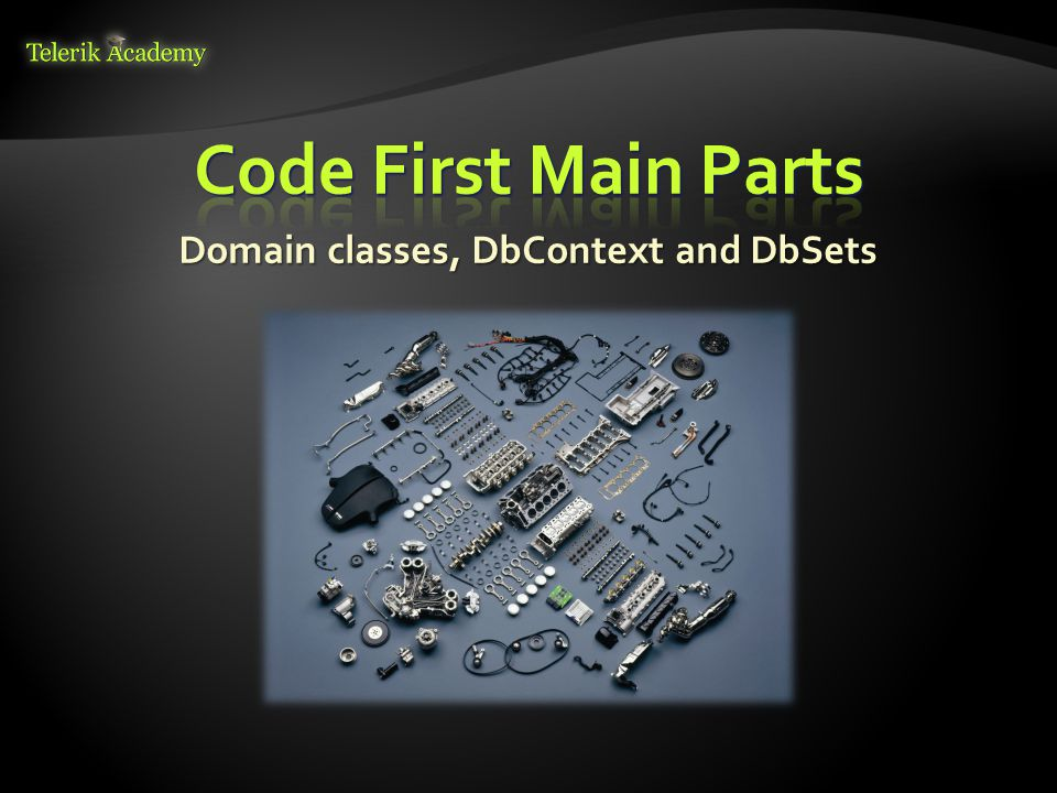  First, create context constructor that calls base constructor with appropriate connection name 19 public class ForumContext : DbContext { public ForumContext() public ForumContext() : base( ForumDb ) : base( ForumDb ) { } { } //...
