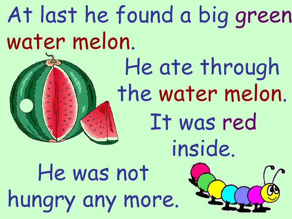 16 He found an orange tangerine. The skin was very hard like that of the orange.