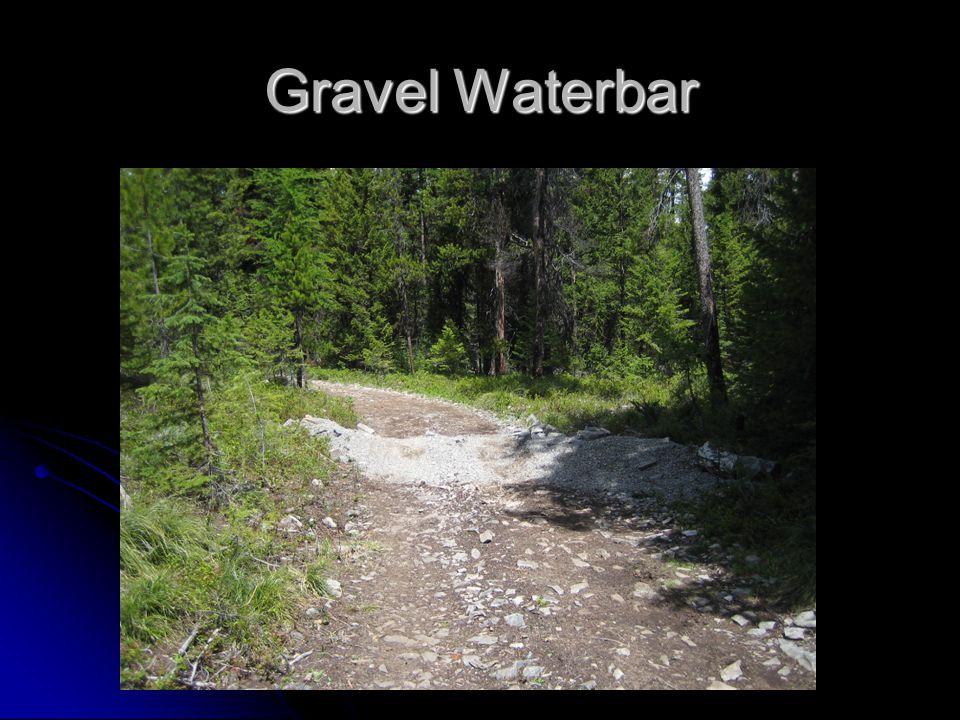 Gravel Waterbar