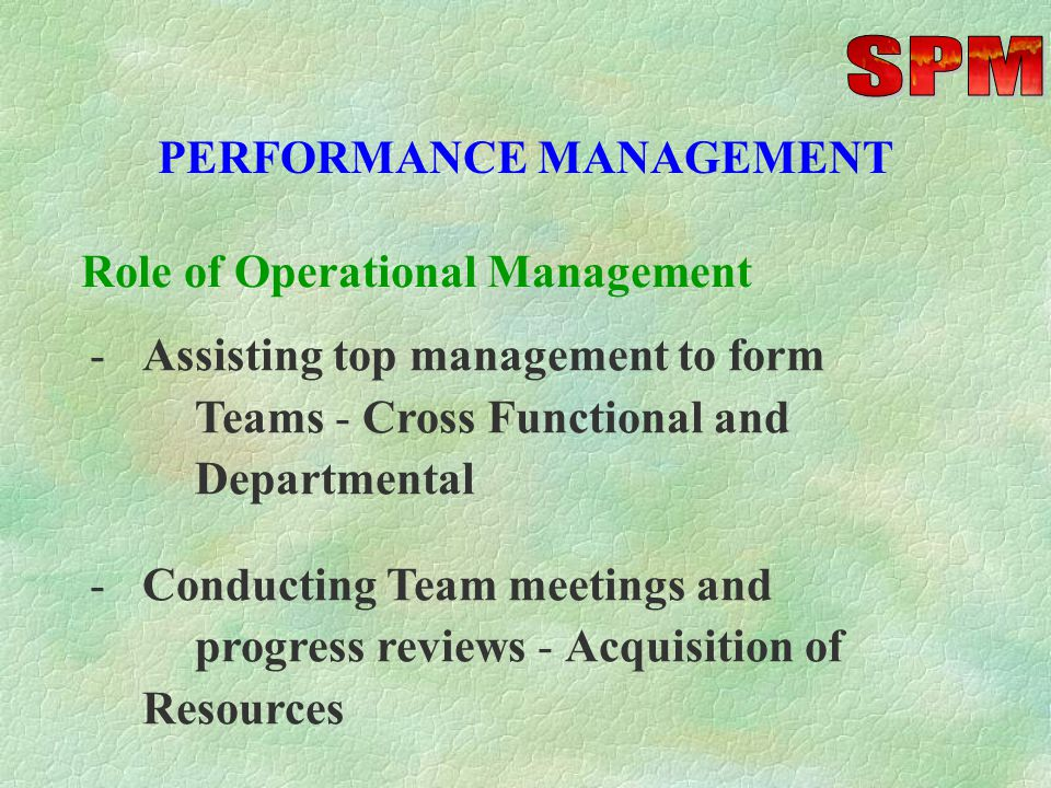 PERFORMANCE PLANNING -Selecting Key Competencies - Technical, General M anagement and Ethical -Defining role of Individual Performance and Self-Development Role of Top Management