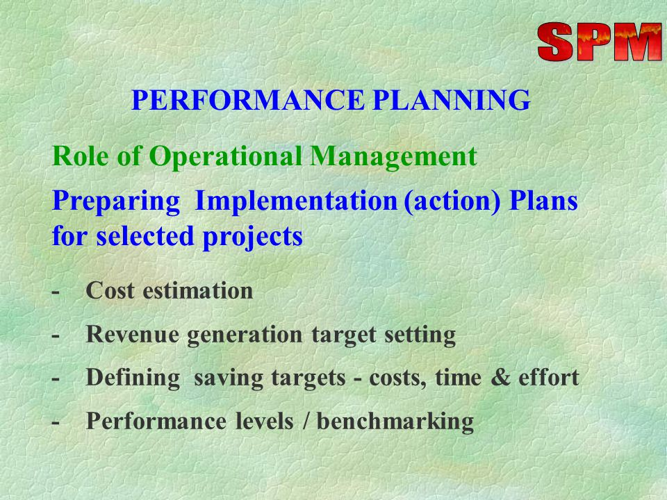 PERFORMANCE MANAGEMENT -Assisting top management to form Teams - Cross Functional and Departmental -Conducting Team meetings and progress reviews - Ac