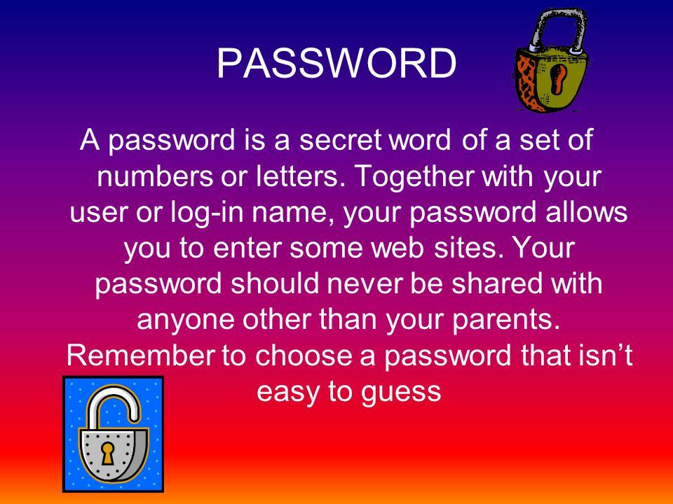 Password Examples 1.Steven138627 2.Cookie32756 3.Butterflie649 4.123321 5.John5723