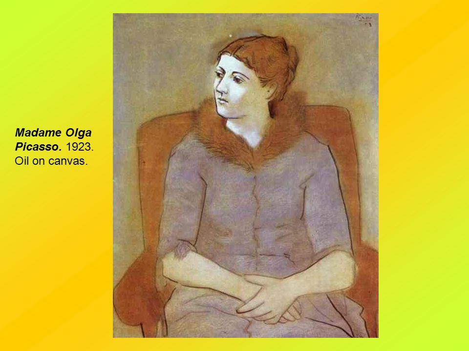 Still-Life. 1918. Oil on canvas.