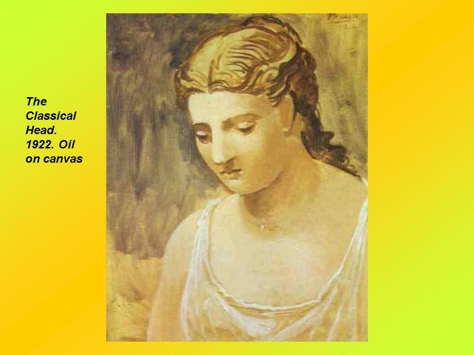 Madame Olga Picasso. 1923. Oil on canvas.