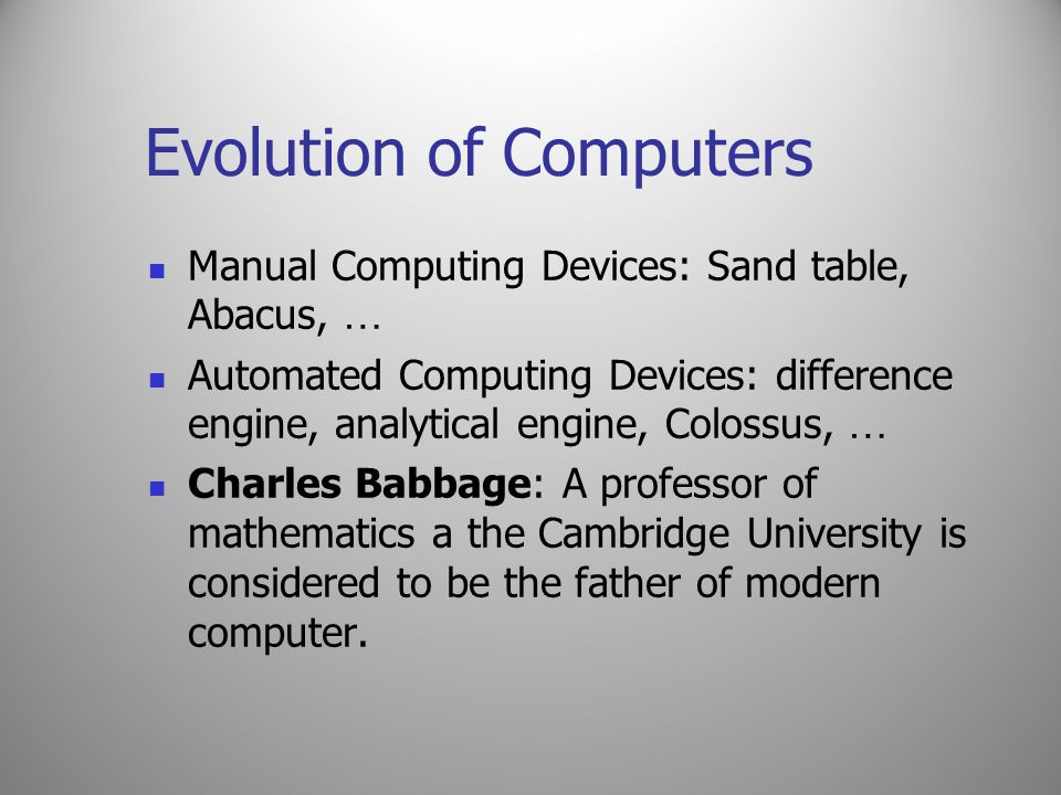 Generations of Computers Advantages: (1) Fastest and powerful computers till date; (2) Being able to execute a large number of applications at the same time and that too at a very high speed; (3) Decreasing the size of these computers to a large extent; (4)The users of these computers find it very comfortable to use them because of the several additional multimedia features; (5) They are versatile for communications and resource sharing.
