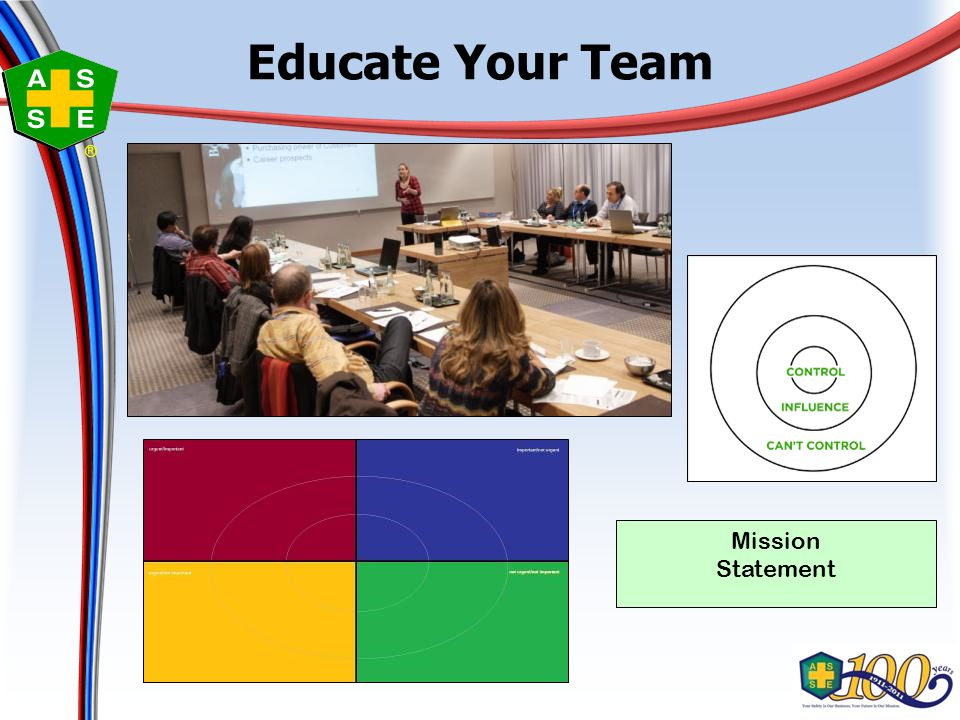 ® Educate Your Team Mission Statement