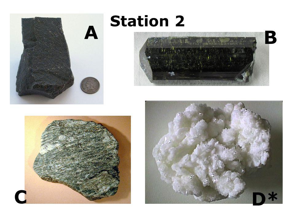 Station 2 A B C D*