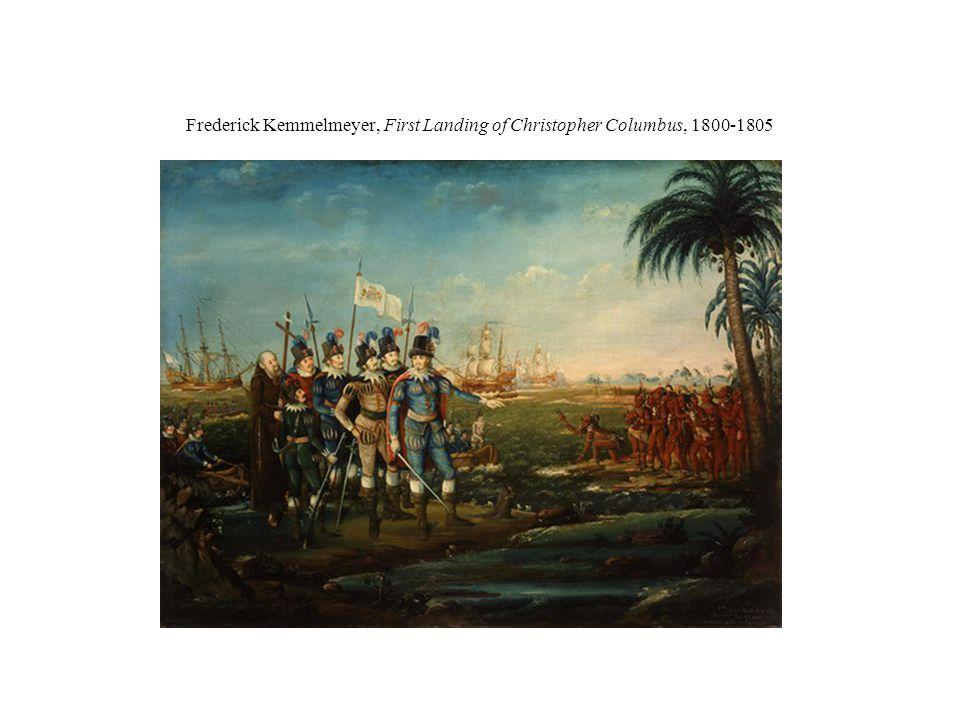 Frederick Kemmelmeyer, First Landing of Christopher Columbus, 1800-1805
