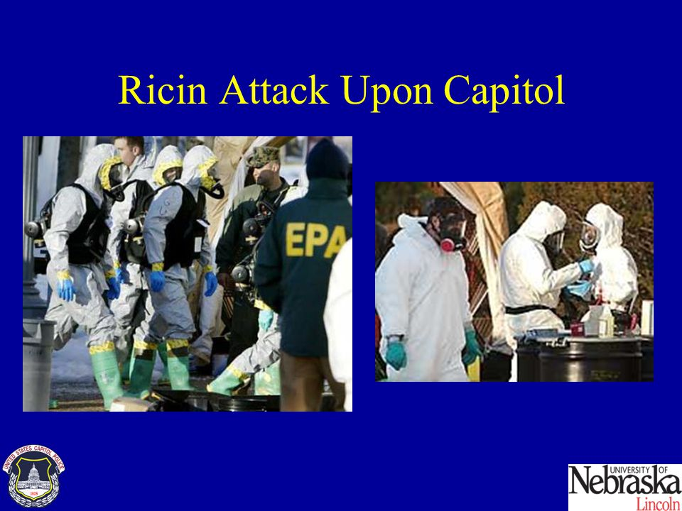 Ricin Attack Upon Capitol