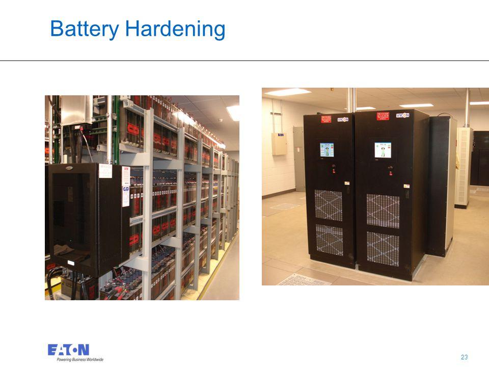 23 Battery Hardening