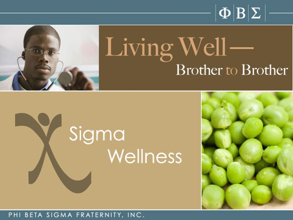 Living Well Brother To Brother is the central component to Sigma's commitment to helping men lead healthier lives, one Brother at a time.