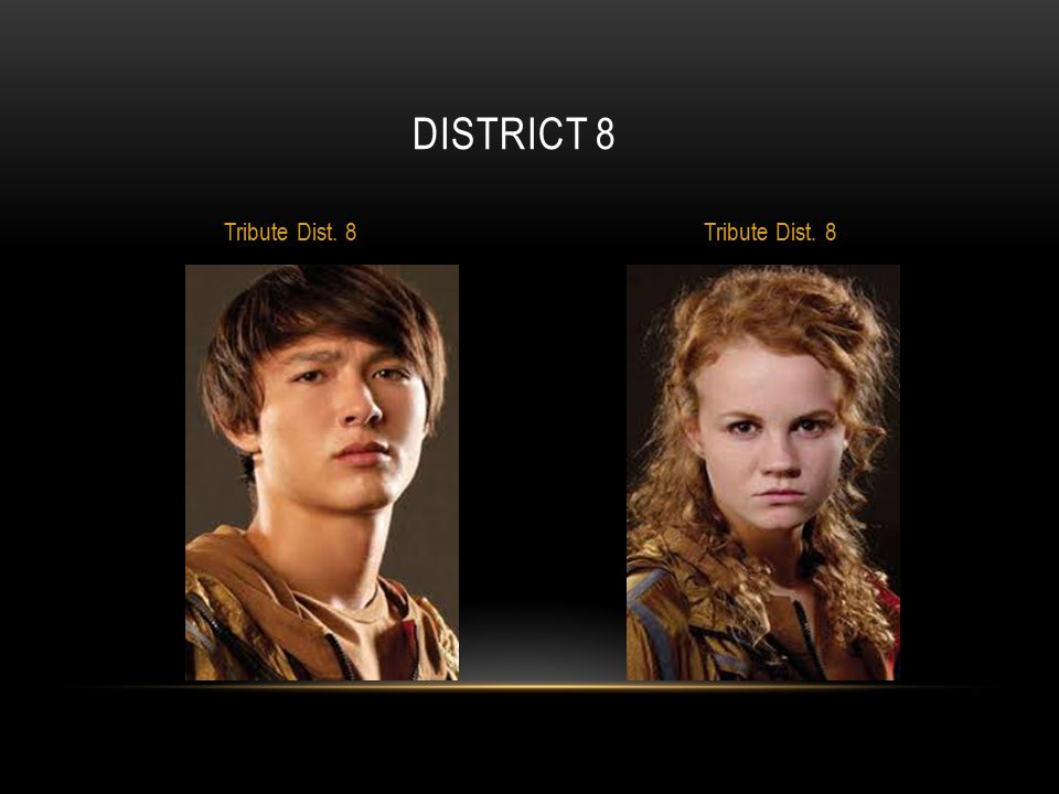 DISTRICT 8 Tribute Dist. 8