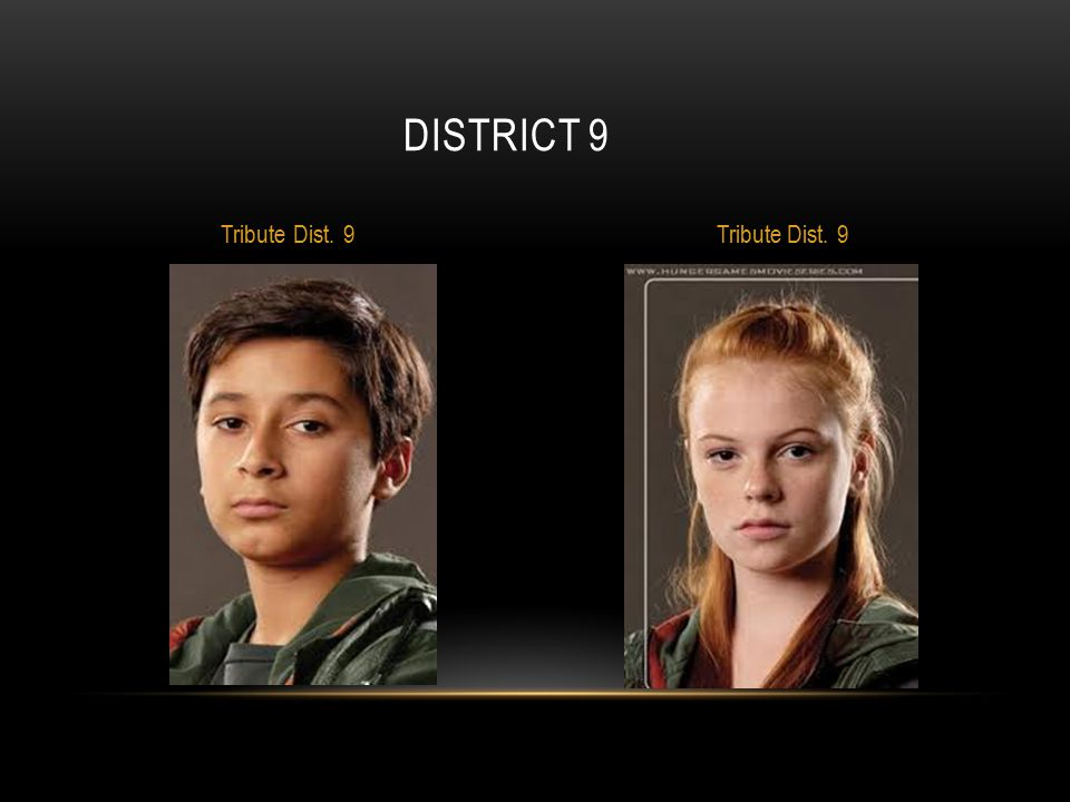 DISTRICT 9 Tribute Dist. 9