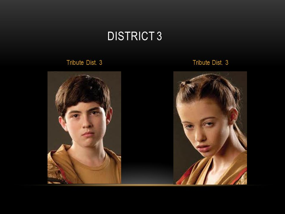 DISTRICT 3 Tribute Dist. 3
