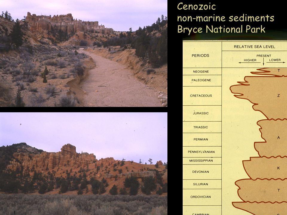 Cenozoic non-marine sediments Bryce National Park