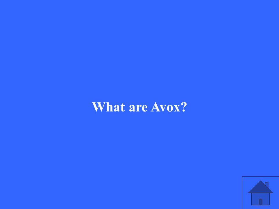 What are Avox
