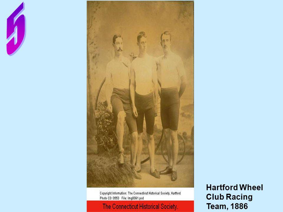 Hartford Wheel Club Racing Team, 1886
