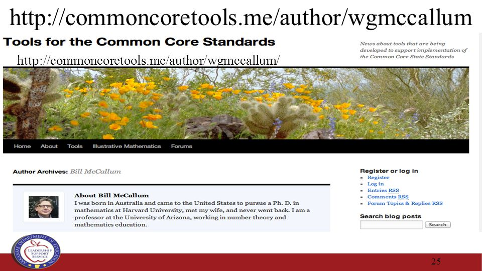 http://commoncoretools.me/author/wgmccallum 25 http://commoncoretools.me/author/wgmccallum/