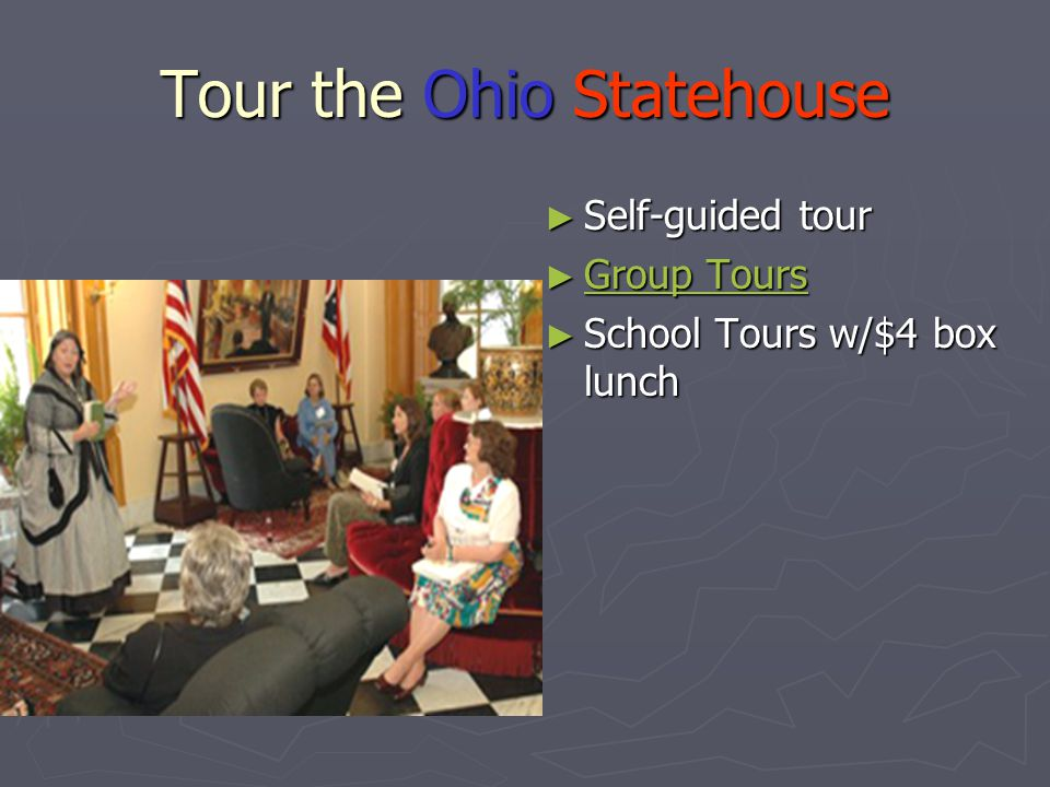 Ohio Geography ► Describe the location of Ohio relative to other states ► Use the map below to identify the major physical and human features of Ohio