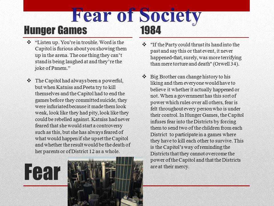 Fear Hunger Games 1984 