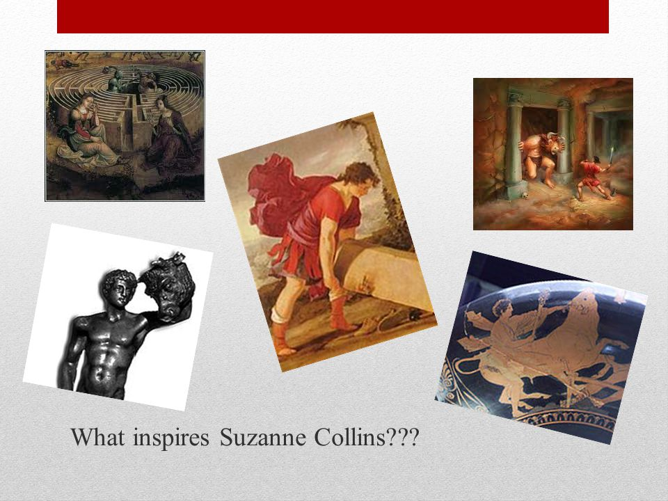 What inspires Suzanne Collins???