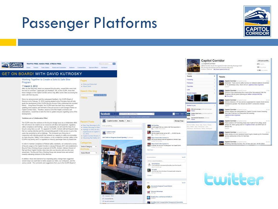 Passenger Platforms