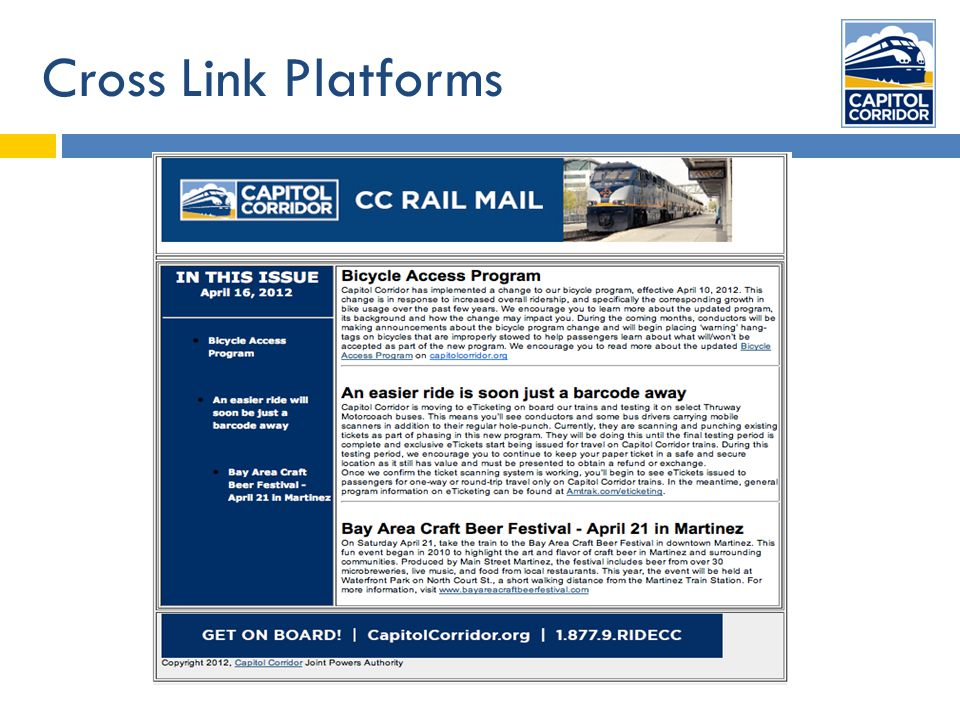 Cross Link Platforms