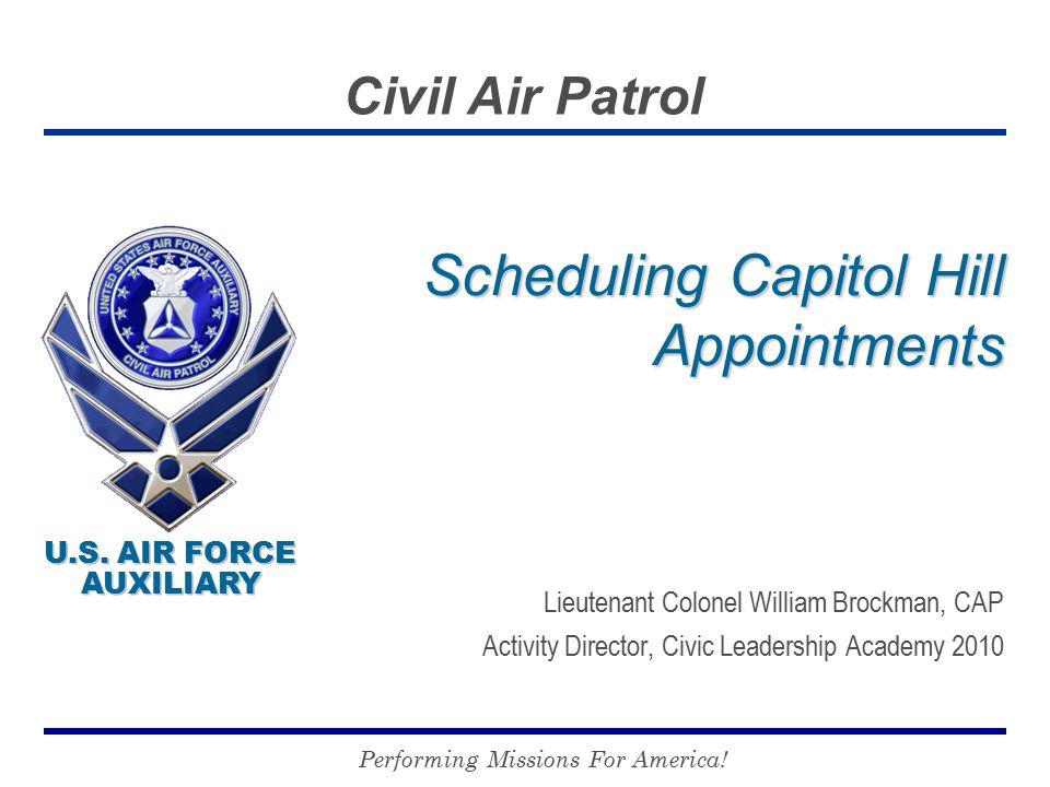 U.S. AIR FORCE AUXILIARY U.S.