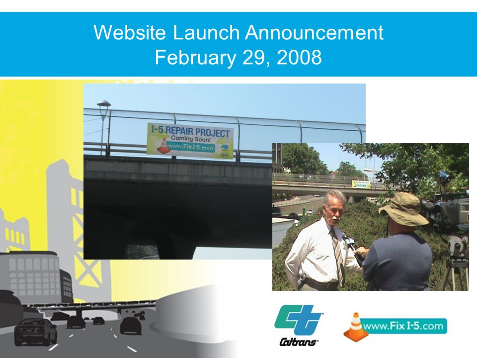 Website Launch Announcement February 29, 2008