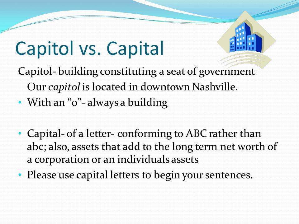 Capitol vs.