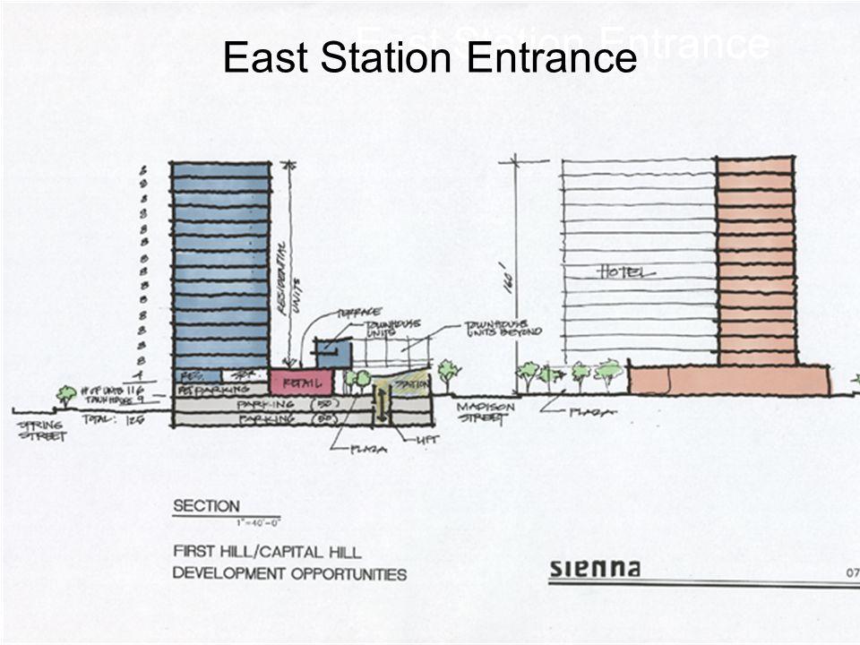 East Station Entrance