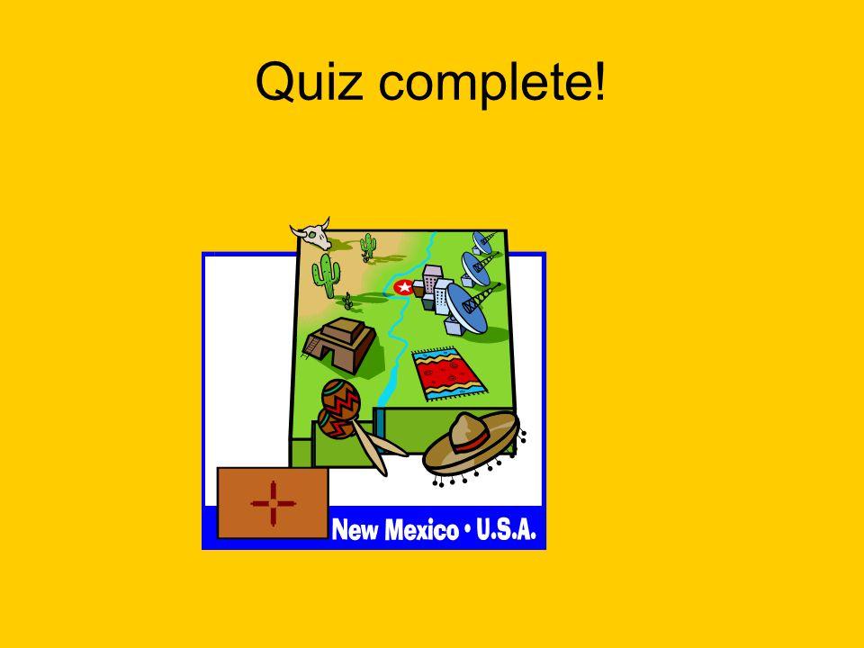 Quiz complete!