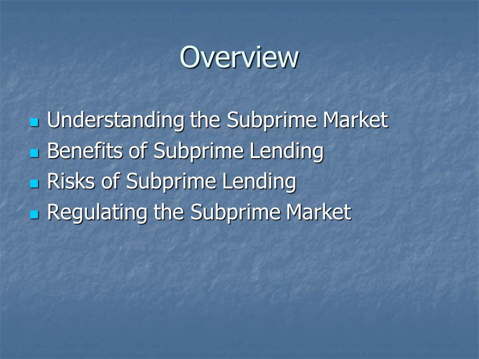Risks of Subprime: More Debt