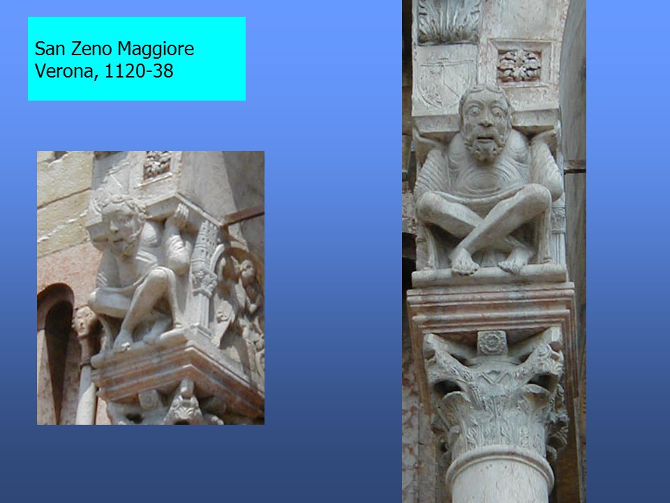 San Zeno Maggiore Verona, 1120-38