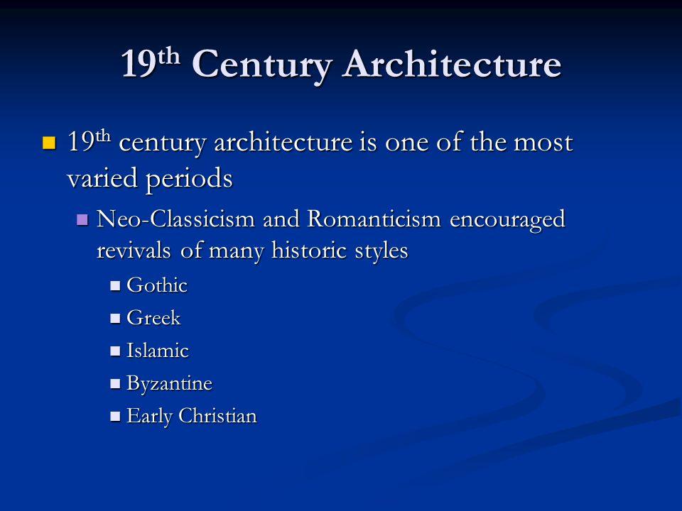 19 th Century Neo-Classicism U.S.Capitol U.S.