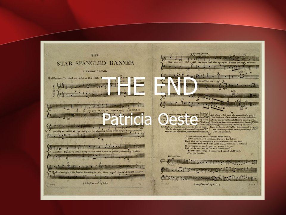 THE END Patricia Oeste