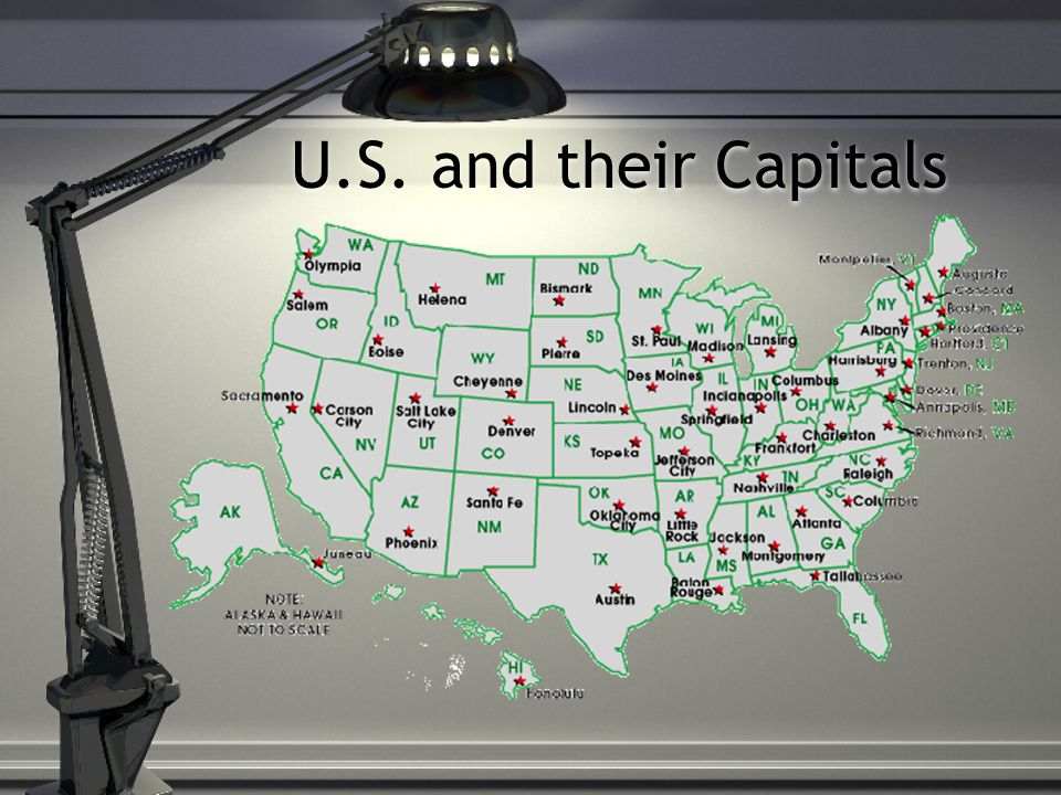 U.S. and their Capitals