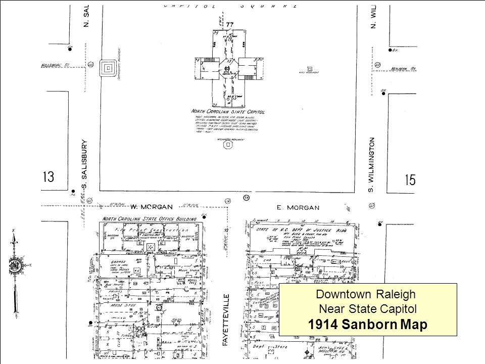Note: Percentages based on the actual number of respondents to each question 10 Downtown Raleigh Near State Capitol 1914 Sanborn Map