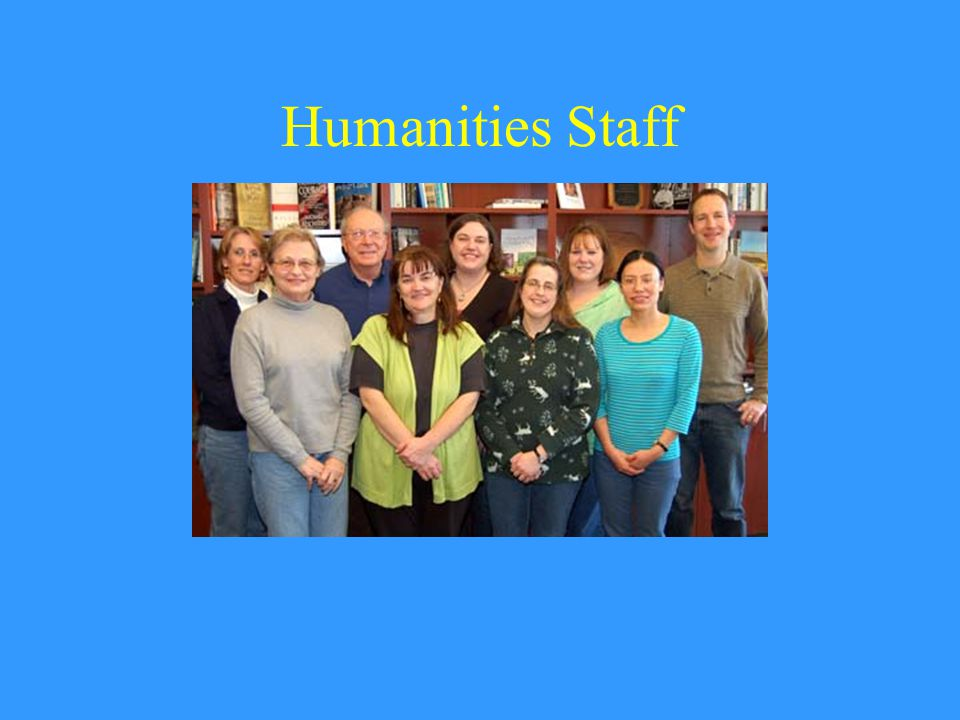 Humanities Staff