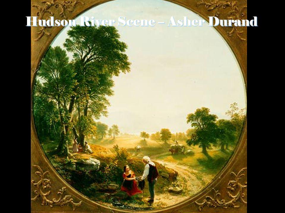 Hudson River Scene – Asher Durand