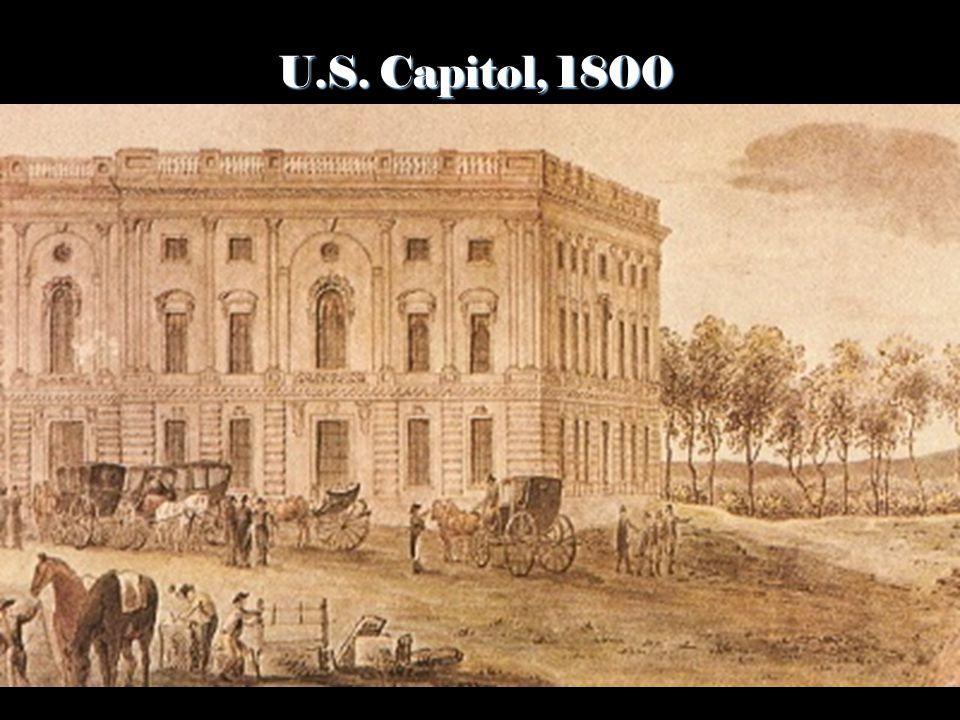 U.S. Capitol, 1800