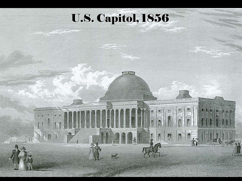 U.S. Capitol, 1856