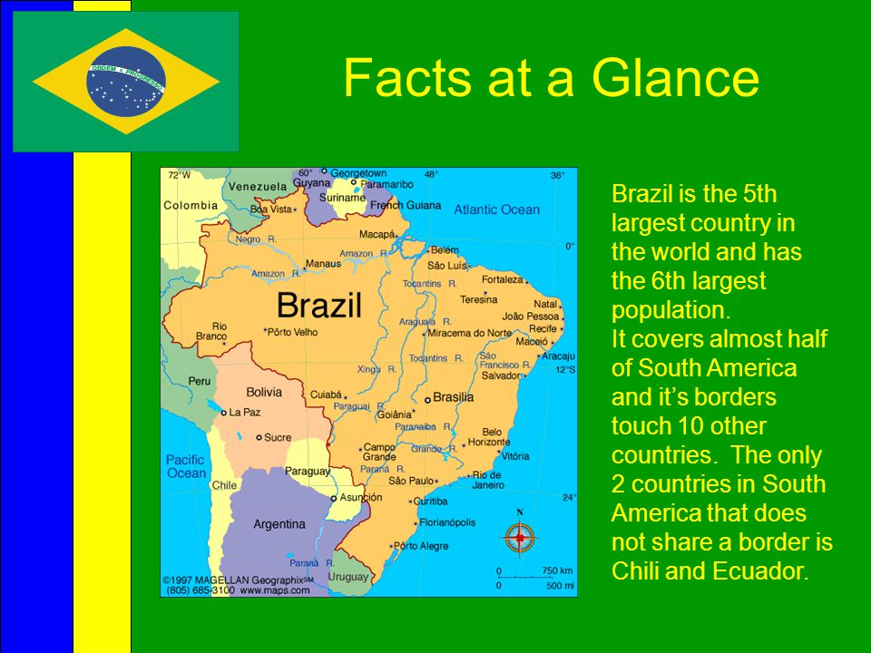 Health  Brazil has a National Health Care system.