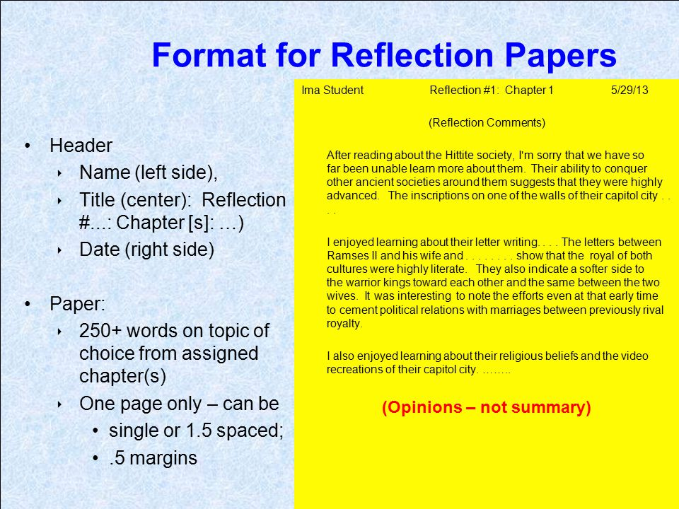 Sample Test Format
